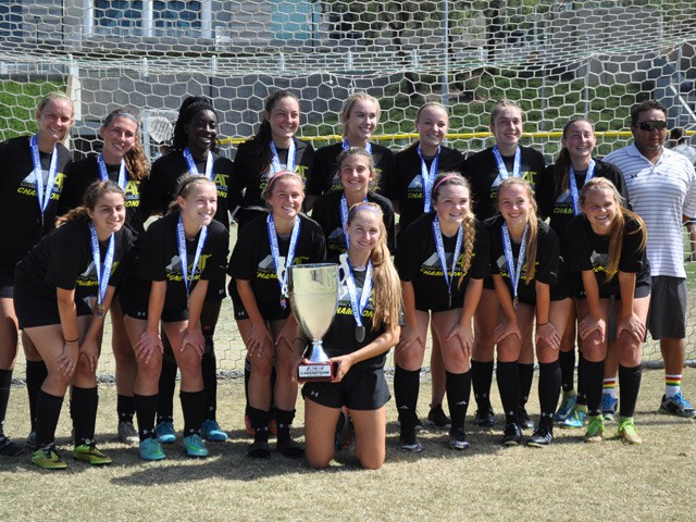Girls 98 Black wins Albion Cup 2016!